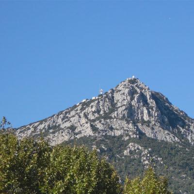 Klettern auf dem Berg Le Coudon