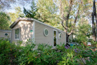 Naturnahe Ferien in einem komfortablen Mobilhaus