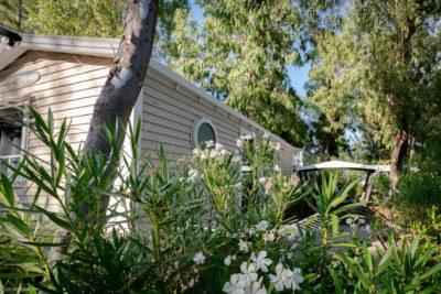 Mietobjekt: billiges Mobilhaus mit Klimaanlage