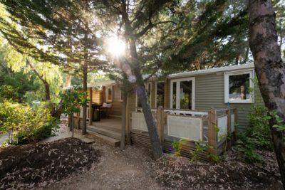 Mietobjekt: hochwertiges Mobilhaus auf einem Campingplatz