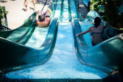 Lavandou Wasserrutsche Beheizter Pool
