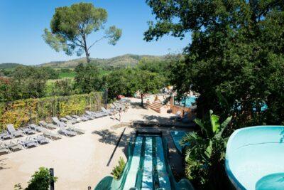 Bormes-les-Mimosas Wasserpark Wasserspiele Ferien