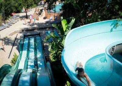 Camping Hyères Wasserrutsche Beheiztes Schwimmbad