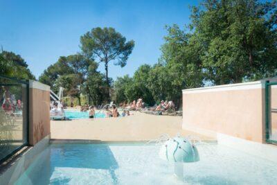 Südfrankreich Beheiztes Schwimmbad Beheiztes Planschbecken Kinder Ferien