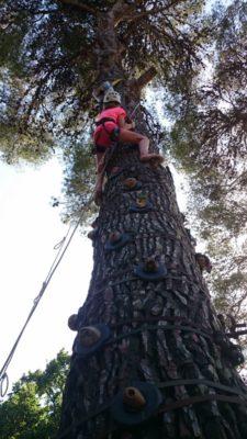 Aktivitäten für Kinder - sportliche Ferien mit Klettern in der Provence
