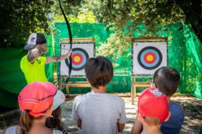 Campingplatz am Mittelmeer - Aktivitäten für Kinder - Sport Bogenschiessen