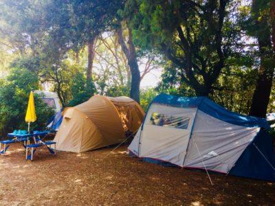 Umweltfreundlicher Campingplatz für Zeltferien an der Côte d'Azur