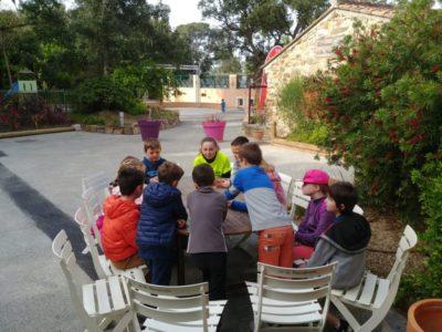 Kinder Club und Aktivitäten für Familienferien auf einem Campingplatz