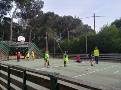 Campingplatz mit sportlichen Aktivitäten in der Nähe vom Mittelmeer