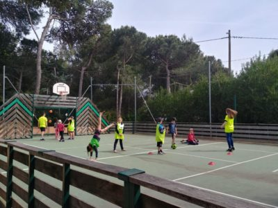 Ferien mit Kindern auf dem Campingplatz - Sport und Fussball
