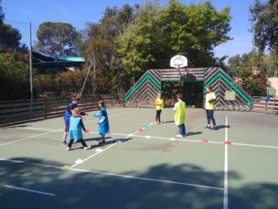 Aktivität Fussball für Kinder, dass sind sportliche Ferien