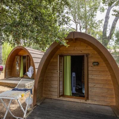 Glamping:Das Holzhaus