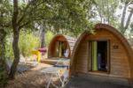 Ferien in einer naturnahen Holzhütte in Frankreich - billig