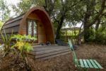 Campingplatz mit einer Unterkunft für 10 Personen in der Natur