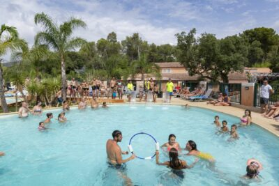 Camping La-Londe-les-Maures Aquazone Schwimmbad Animation Familie