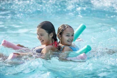 Camping La-Londe-les-Maures Schwimmbäder Familie Ferien Entspannung