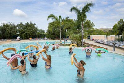 Lavandou Wasserpark Gruppenkurse Schwimmbad Aquagym