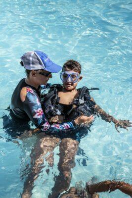 Hyères Vacances Schwimmbad Tauchen
