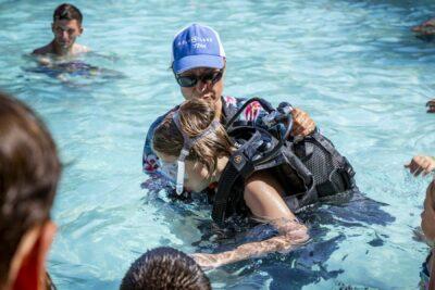 Bormes-les-Mimosas Beheiztes Schwimmbad Tauchtaufe Entspannung Ferien