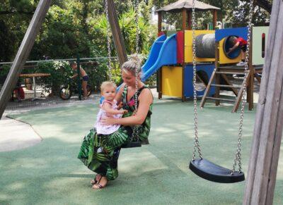 Spielplatz für ein Wochenende mit der Familie an der Côte d'Azur