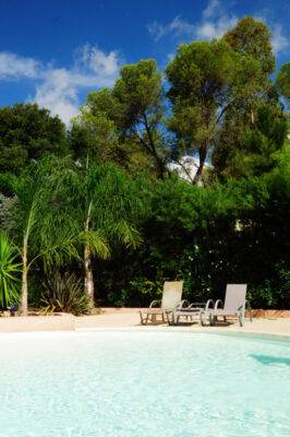 Südfrankreich Wasserpark Beheiztes Schwimmbad Sonne Entspannung