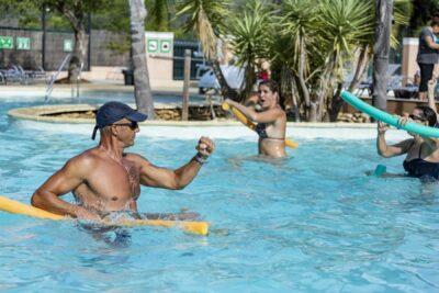 Aquagym Pool Animation Sport Ferien