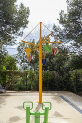 Wasserspiele Schwimmbad Planschbecken Kinder Ferien