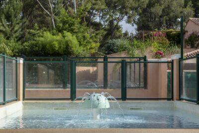 Wasserpark Planschbecken Wasserspiele Schwimmbad