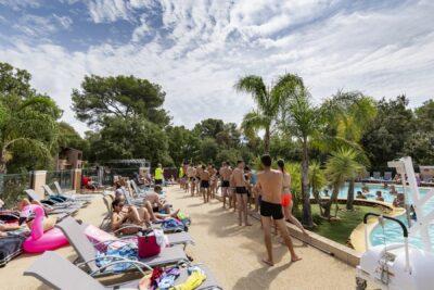 Bormes-les-Mimosas Aquakomplex Beheizte Schwimmbäder Ferien