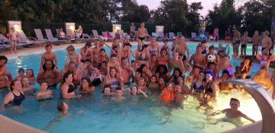 Pool by night, Poolparty, Aktivitäten für die Familie und unter Freunden