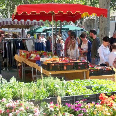 Entdecken Sie die Märkte der Provence während Ihrer Ferien auf dem Campingplatz