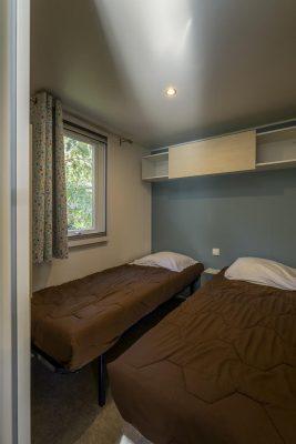 Grosses und voll eingerichtetes Mobilhaus mit Klimaanlage in der Nähe der Strände von Hyères