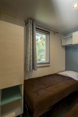 Voll eingerichtetes, preisgünstiges und  naturnahes Mobilhaus mit Klimaanlage in Frankreich