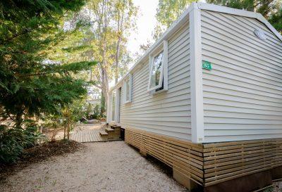 Mobilhaus mit Klimaanlage – naturnahe und preisgünstige Ferien