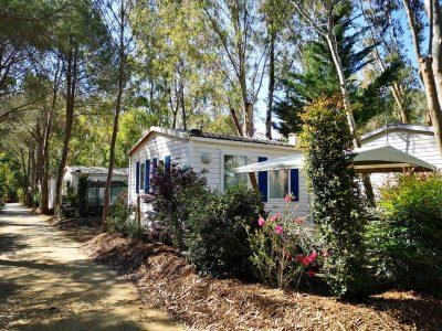 Mietobjekt: Mobilhaus für preisgünstige Ferien auf einem Campingplatz