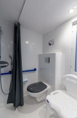 Komfortables, sicheres und barrierefreies Mobilhaus für Menschen mit Handicap