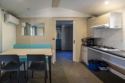 Viel Platz und Komfort in einem barrierefreien Mobilhaus für Menschen mit Handicap