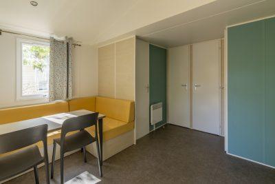 Mobilhaus der Luxusklasse auf einem familienfreundlichen Campingplatz an der Côte d'Azur