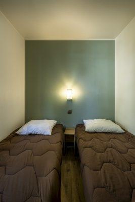 Mobilhaus mit Klimaanlage und 3 Schlafzimmern