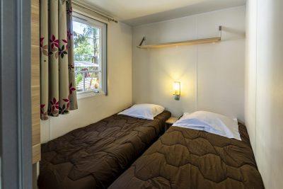 Mietobjekt: Mobilhaus mit Klimaanlage – Ferien auf einem Campingplatz