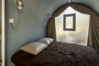 Mietobjekt: naturnahe Ferien in einem günstige Zelt auf einem sonnigen Campingplatz in Frankreich