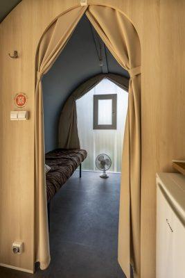 Campingplatz an der Côte d'Azur – Familienferien in einem Bungalow aus Zelttuch
