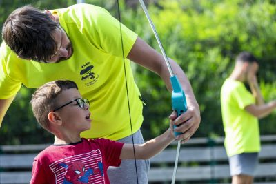Aktivitäten für Kinder während der Ferien auf einem Campingplatz in der Provence