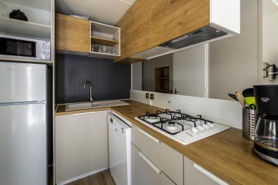 Hochwertiges Mobilhaus mit Klimaanlage auf einem Camingplatz**** an der Côte d'Azur
