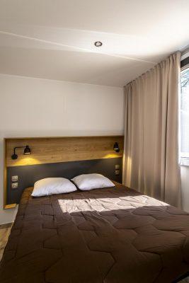 Hochwertiges Mobilhaus mit Klimaanlage auf einem Campingplatz**** in Südfrankreich