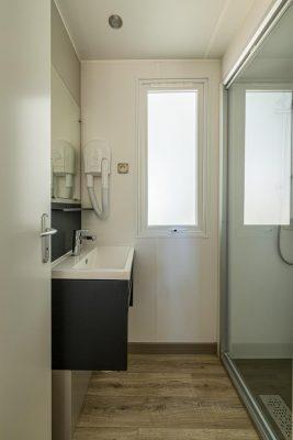 Hochwertiges Mobilhaus mit Klimaanlage für 6 Personen – Campingplatz**** in Frankreich