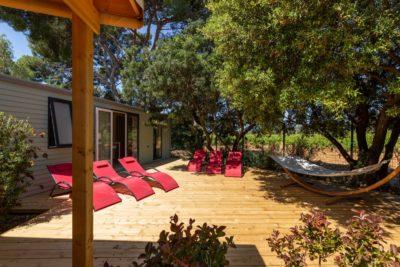 Ferienvilla - Familie - 2 Liegestühle