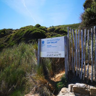 Strand 'Escalet' – 'Cap Taillat', sowie Ramatuelle sind nur 50 Minuten vom Campingplatz entfernt
