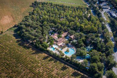 Naturnaher und umweltbewusst geführter Campingplatz mit 4 Pools an der Côte d'Azur