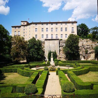 Besichtigung vom Schloss Entrecasteaux